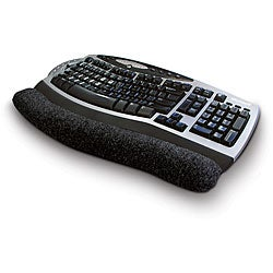 Plastic and Nylon Beaded Massaging Keyboard Wrist Cushion Pad