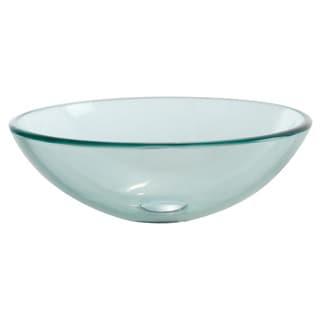 KRAUS Glass Vessel Sink in Clear