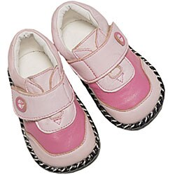 Papush Pink Leather Infant Walking Shoes (4 options available)