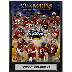 Buccaneers Super Bowl XXVII Champions Photo Plaque