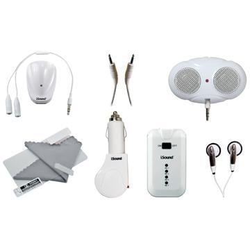 DreamGear DGIPOD-632 White 12-in-1 iPod Premium Accessory Pack