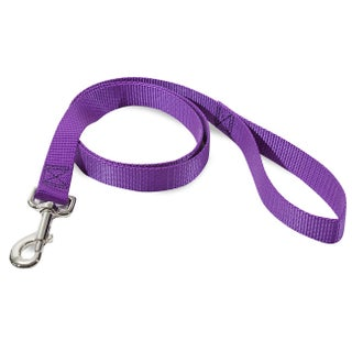 Majestic Pets Four-Foot Nylon Dog Leash (Option: Purple)