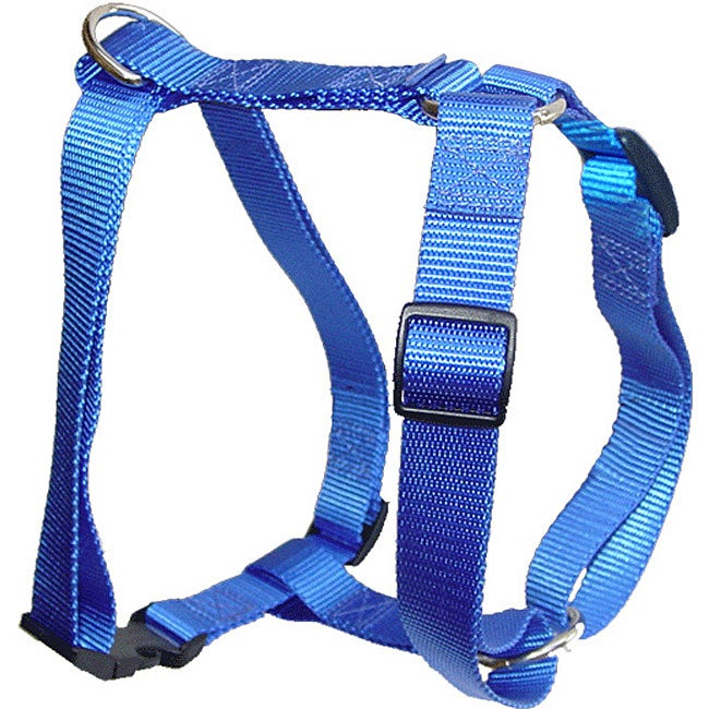 Majestic Pets Single-Ply Nylon Adjustable Dog Harness (28 to 36-inch Tall Pets)