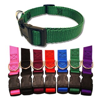 Majestic Pets 14 to 20-inch Adjustable Dog Collar (Option: Purple)