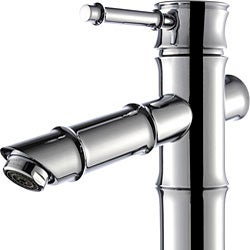 Kraus Bamboo-style Vessel Sink Bathroom Faucet - Thumbnail 1