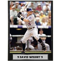 David Wright 9x12 Photo Plaque