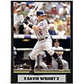 David Wright 9x12 Photo Plaque