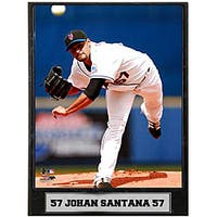 Johan Santana 9x12 Photo Plaque