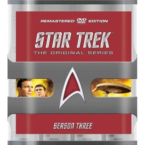 Star Trek: The Original Series Season Three Remastered (DVD)