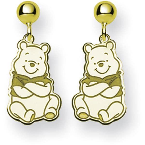 Goldplated Disney's Winnie the Pooh Earrings by Versil