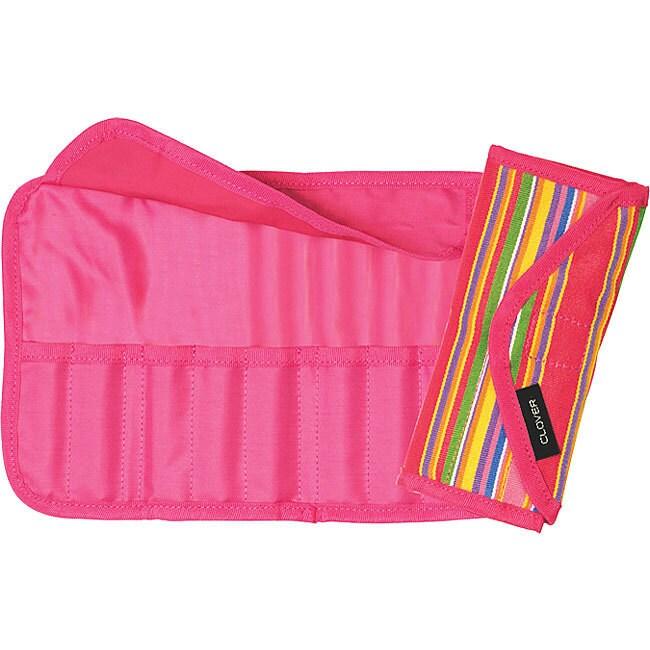 Clover Green) Getaway Soft Touch Crochet Hook Case (Cotton)