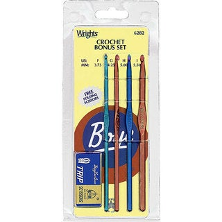 Aluminum Crochet Hook Bonus Set