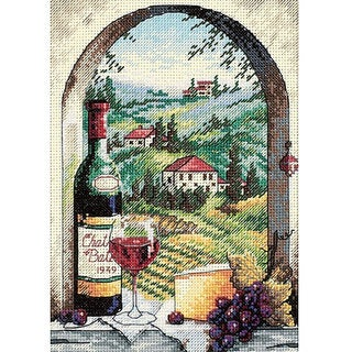 Petite Dreaming Of Tuscany Counted Cross Stitch Kit