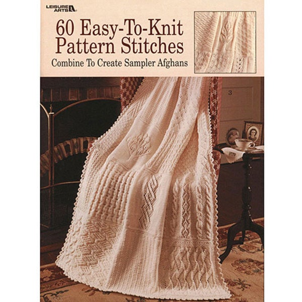 Shop Leisure Arts 60 Easy To Knit Pattern Stitches Book