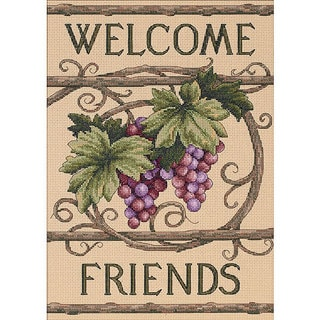 Welcome Friends Counted Cross Stitch Kit