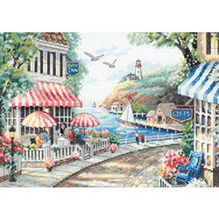 Cafe by the Sea Counted Cross Stitch Kit https://ak1.ostkcdn.com/images/products/3343968/P11436286.jpg?impolicy=medium