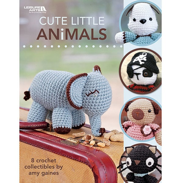 Leisure Arts 'Cute Little Animals' Crochet Book