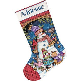 Crossstitch Christmas Stockings