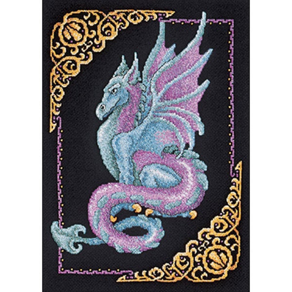 Shop Mythical Dragon Counted Cross Stitch Kit Free