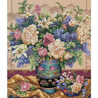'Oriental Splendor' Counted Cross Stitch Kit