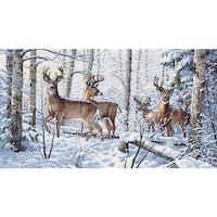 Gold Collection Woodland Counted Cross Stitch Kit