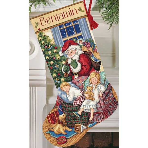 'Sweet Dreams' Counted Cross Stitch Stocking Kit