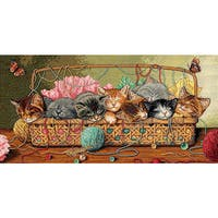 Dimensions 'Kitty Litter' Counted Cross Stitch Kit