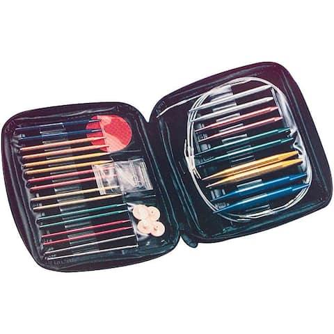 Needlemaster 200 Zippered Knitting Needle Kit