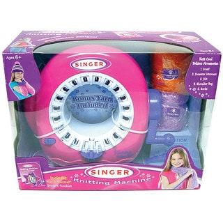 Singer Kid's Pink Knitting Machine