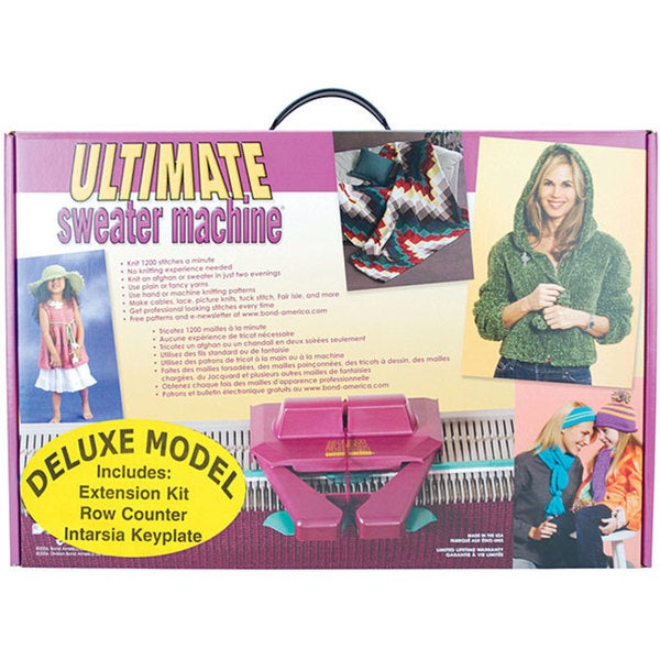 ultimate sweater machine review