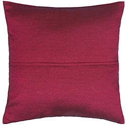 Fuchsia Mulberry Thai Silk Cushion Cover - Thumbnail 1