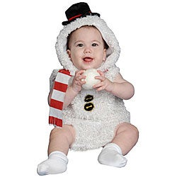 Baby Plush Snow Man Costume - Thumbnail 0