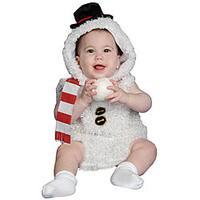 Baby Plush Snow Man Costume