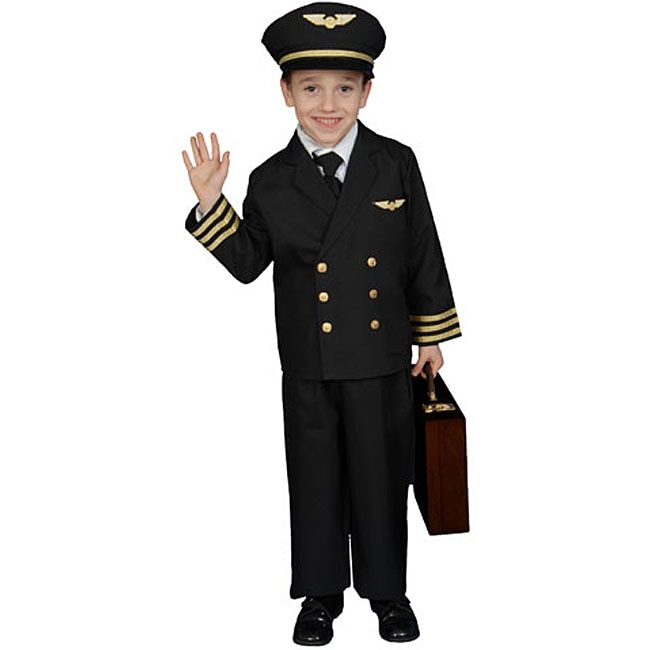 Pilot Boy Jacket Costume Free Shipping Today Overstock