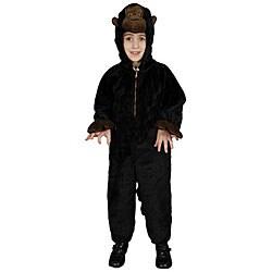 Boy's Plush Gorilla Costume