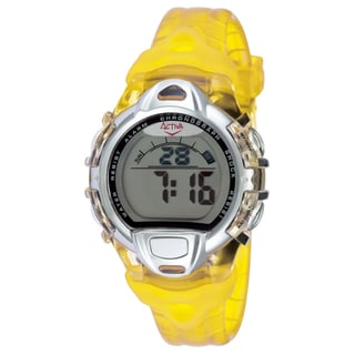Activa by Invicta Midsize Men's Digital Yellow Watch