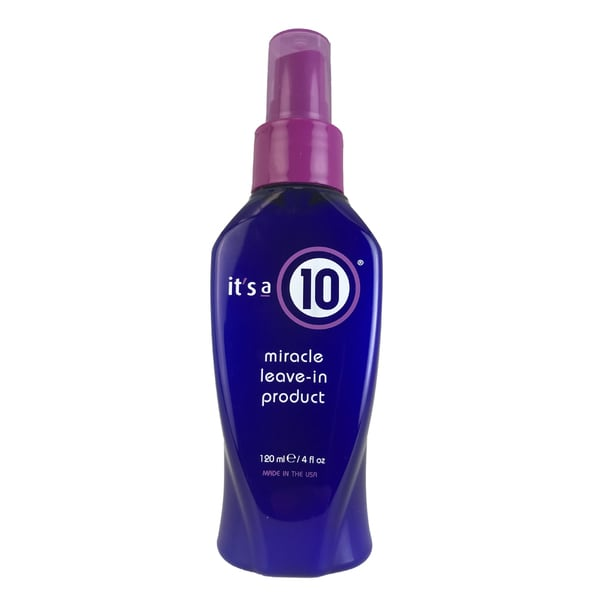 It's a 10 4-ounce Miracle Leave-in Product