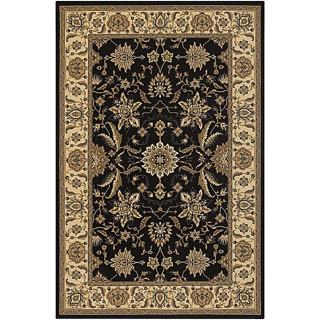 Artist's Loom Indoor Traditional Oriental Rug (5'3 x 7'6)