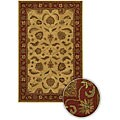 Artist's Loom Hand-tufted Traditional Oriental Wool Rug (5'x7'6) - 5' x 7'6
