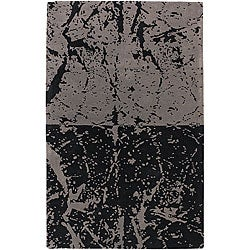 Artist's Loom Hand-tufted Contemporary Abstract Wool Rug - 7'9 x 10'6 - Thumbnail 0