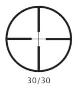 Barska 3-9x40 Huntmaster Rifle 30/30 Reticle Scope - Thumbnail 1