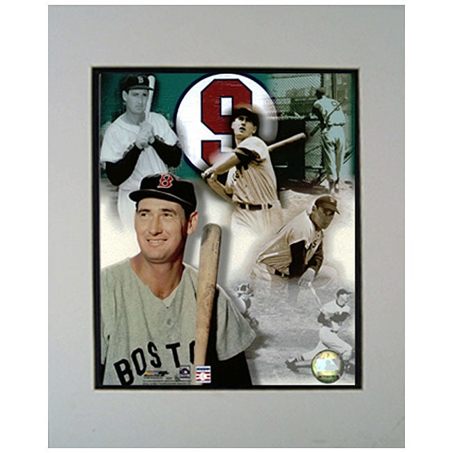 Ted Williams Red Sox 11x14 Matted Photo