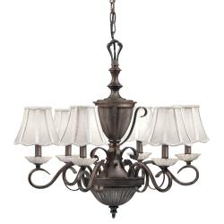 Legacy Bronze 6-light Chandelier - Thumbnail 1