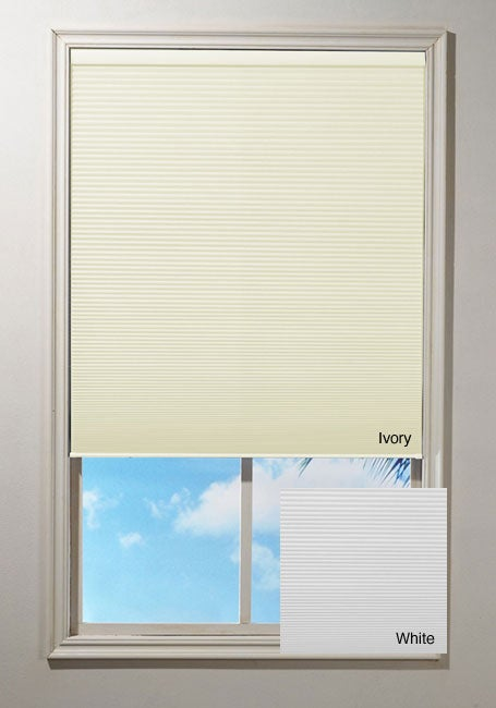 Cordless Honeycomb Cellular Window Shade (60 in. x 64 in....
