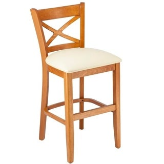X-back Microfiber Seat Counter Stool (3 options available)