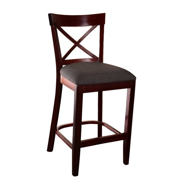X back Microfiber Seat Counter Stool Free Shipping Today  : X back Microfiber Seat Counter Stool c1919d9d 52e8 4bb9 be37 2dc7dcbe7eae600 from www.overstock.com size 600 x 600 jpeg 22kB