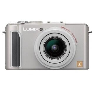 Panasonic Lumix DMC-LX3 10.1 Megapixel Compact Camera - Silver