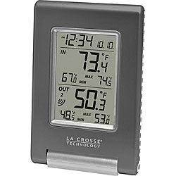 La Crosse Technology WS-9080U-IT Wireless Temperature Station with Atomic Time