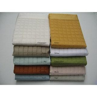 Quilted Cotton 400 Thread Count Sham Set