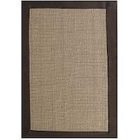 Hand-woven Sisal Choco Brown Jute Rug (8'9 x 12')